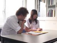【素人】わいせつ指導事件!!補修授業で生徒に迫る変態教師!![無料動画]