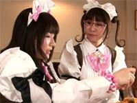 【コスプレ】ふたなりメイドカフェ物語[1] 畑中パイン 早乙女ルイ