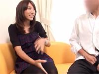 【コスプレ】センズリ鑑賞会 4 恥じらい素人娘に見せつけちゃいました[1]