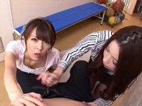 巨乳W女教師 〜極上BODYと夢の逆3P!〜 かすみりさ ましろ杏