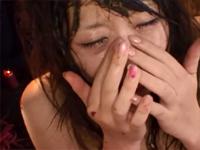 極めつきド変態 女子大生ゲログソ2穴中出しSMリミテッドエディション! 青山亜里沙 [6]