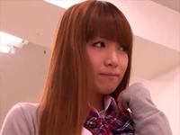 クラスで一番精子が似合う友田彩也香にぶっかける![1]