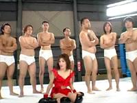 女子プロレスラーガチンコバトル!東城えみVSドレイク森松 負けたら即AVデビューデスマッチ!![2]