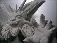 粘土でドラクエシリーズのラスボスを作ってみた