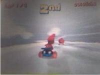 ディディーコングレーシングDS エディットコースで対戦している動画