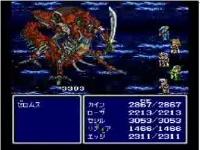 FFIV イージータイプのゼロムス戦 / ファイナルファンタジー系動画