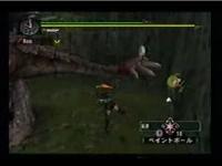 モンスターハンター 凄い方法でリオレウスの尻尾を斬る / モンスターハンター系動画