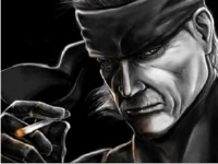 メタルギアシリーズのキャラを本物そっくりに描いていく動画