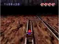 スーパーマリオRPG トロッコレース「ドゥカティマウンテン」 最速クリア動画1分51秒40