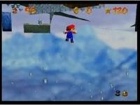 スーパーマリオ64 寒い寒いマウンテン 謎の空中浮遊