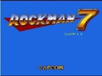 ロックマン7 開発途中時のプレイ動画