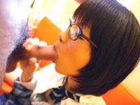 メガネっ娘がローションで乳を揉みくちゃにされて・・・[芸能/お宝]