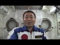 若田さんに質問!!宇宙でうどん、どうやって食べるの?