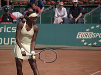 女子テニス、ヴィーナス・ウィリアムズ選手のノーパン風ウェア