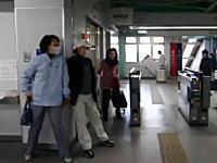 東日本大震災。リアルな被災地の映像。地面が揺れる瞬間と津波。