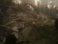 2名が死亡した卒業式中の天井落下事故。その直後の映像がアップされる