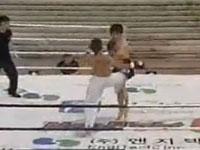 テコンドー、衝撃の開始直後一発KO