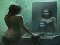 有名絵画も含まれている恐怖の画像集