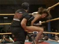 対女性用のレスリング最終奥義、手マン