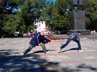 これはワロタwロシアの召喚武術「ポッポの技」が馬鹿すぎワロタw