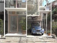 チャレンジャーすぎる家。東京にあるというスケスケ住宅が凄い動画。