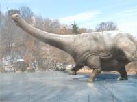 巨大恐竜が氷の上を優雅にアイススケート、デンバー美術館の恐竜展のPVが面白い