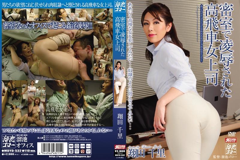 密室で凌辱された高飛車女上司 翔田千里