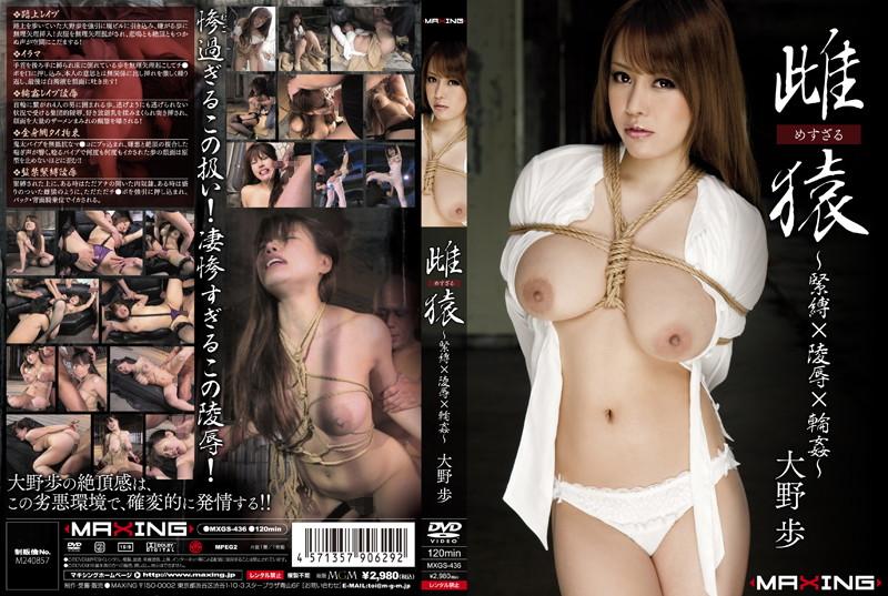 大野歩:雌猿 〜緊縛×陵辱×輪姦〜 大野歩